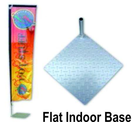 Flat indoor base