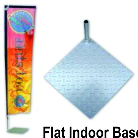 Flat indoor base