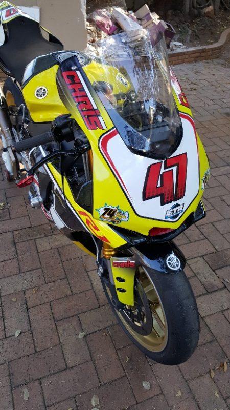 Custom Branding motorbike