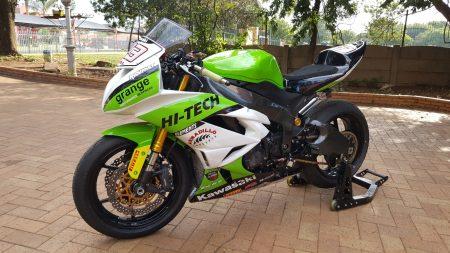 Custom Branding motorcycle