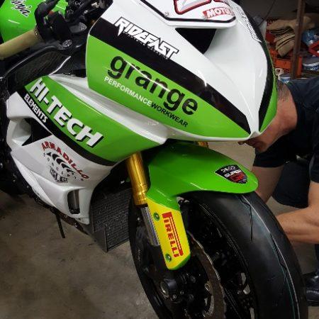 Motorcycle Branding