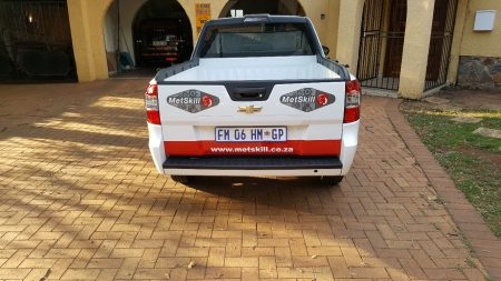 Bakkie Partial Wraps