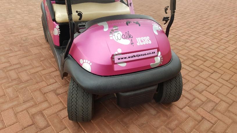 Golf Cart Branding