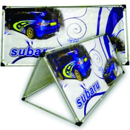 Subaru a frame banner